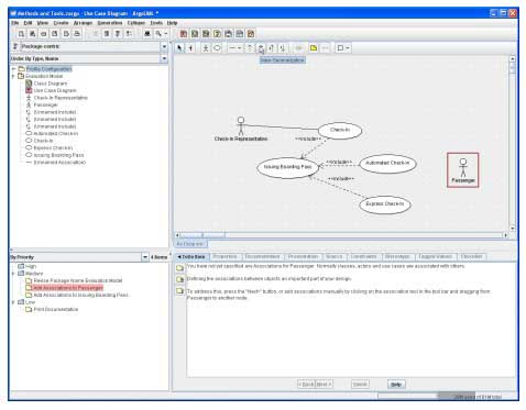 ArgoUML open source UML tool